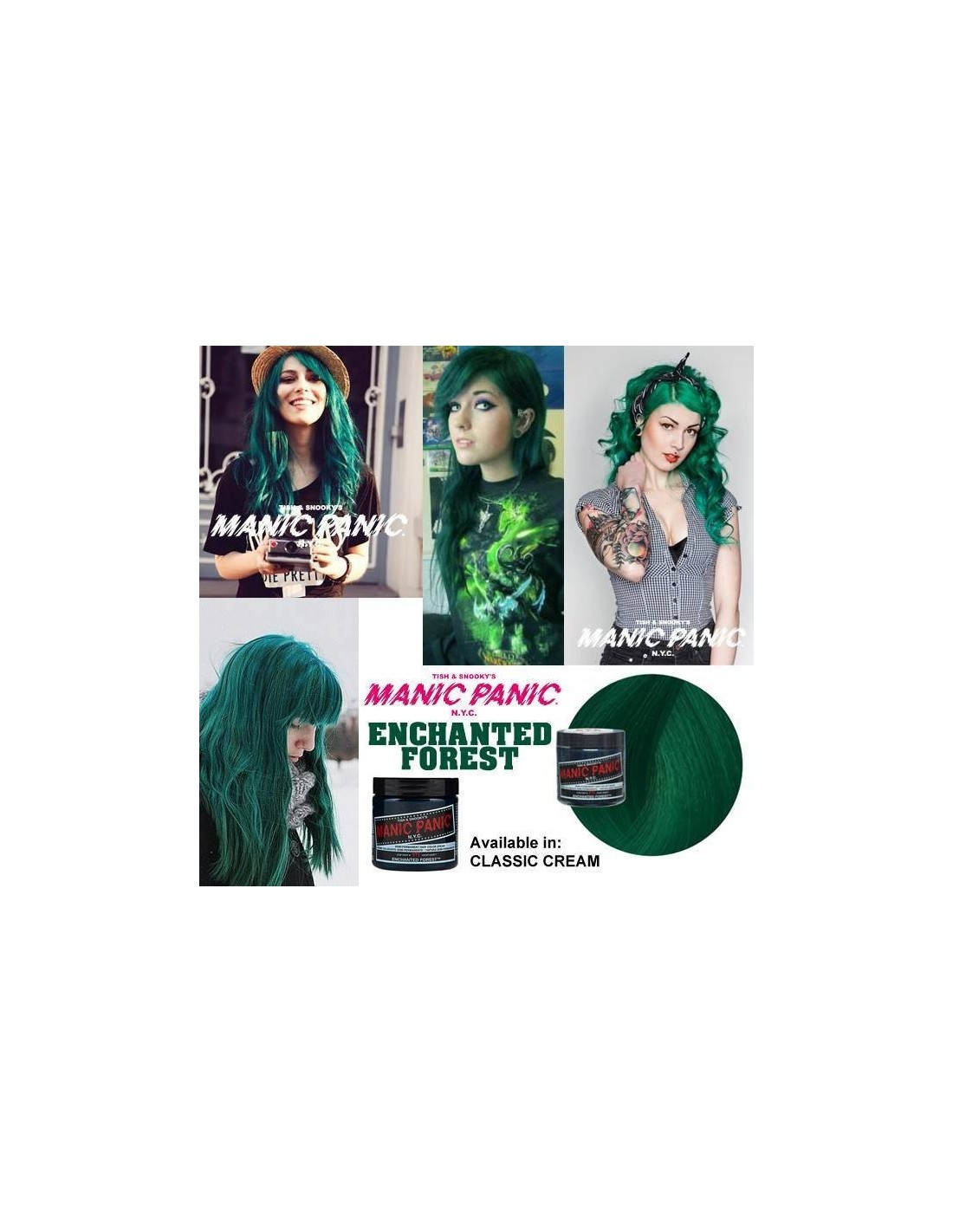 Molto AMPLIFIED ENCHANTED FOREST - Manic Panic España JI56