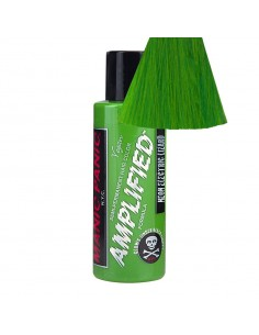 TINTE VERDE PARA EL PELO MANIC PANIC AMPLIFIED NEON ELECTRIC LIZARD