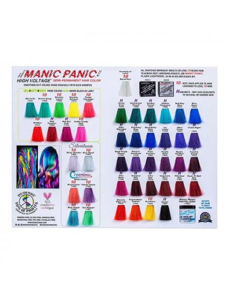 CARTA DE COLOR MANIC PANIC
